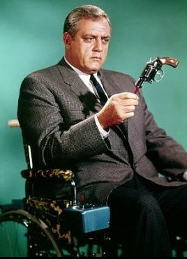 Raymond Burr as the original Ironside.