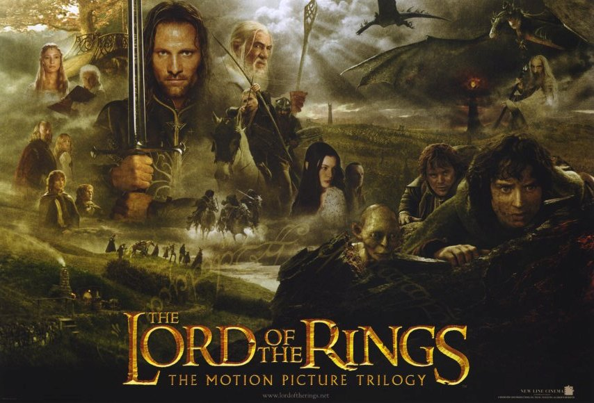 Le Seigneur des Anneaux / The Hobbit #4 Lord-of-the-rings-trilogy-movie-poster-2003-1020187968
