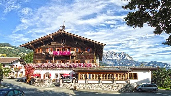 lodging in Austrian Alps