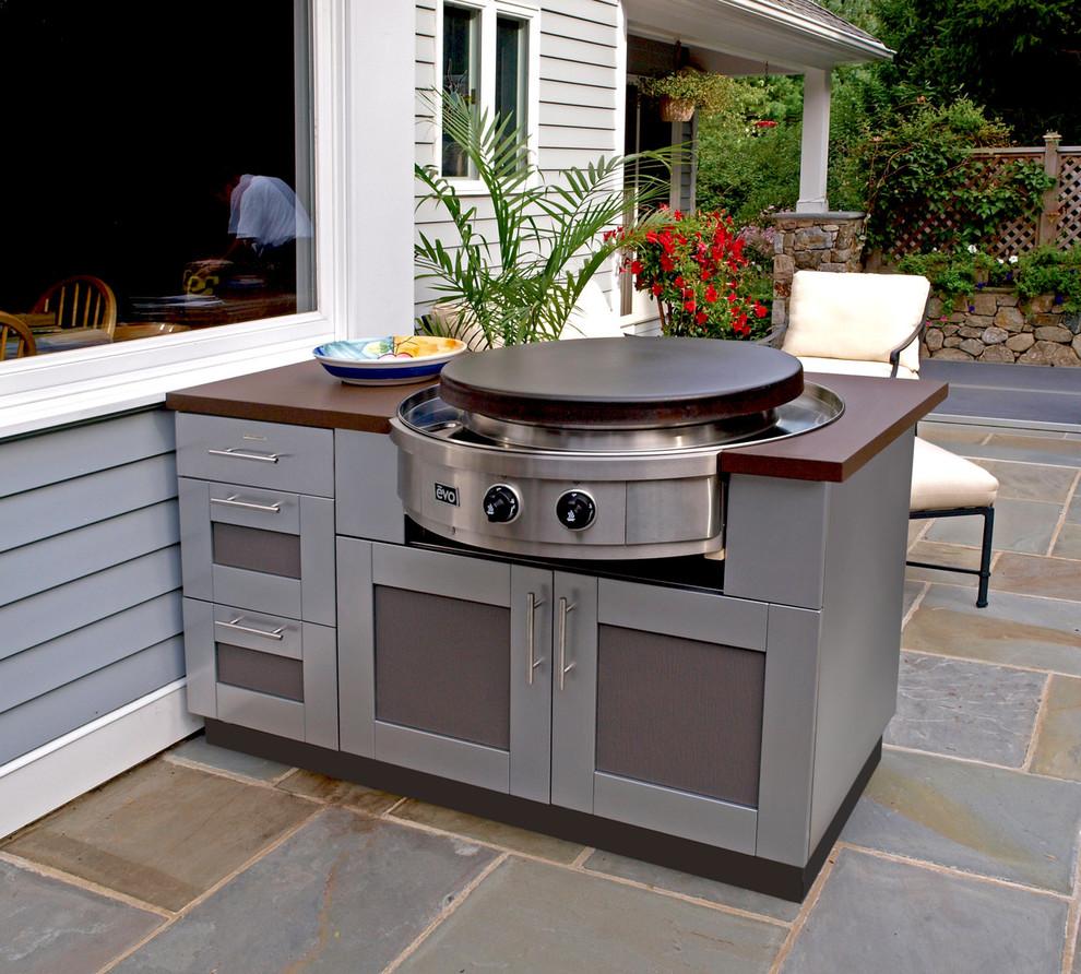 Evo Circular Cooktop Blog: Outdoor Kitchen with Evo Circular Cooktop ...