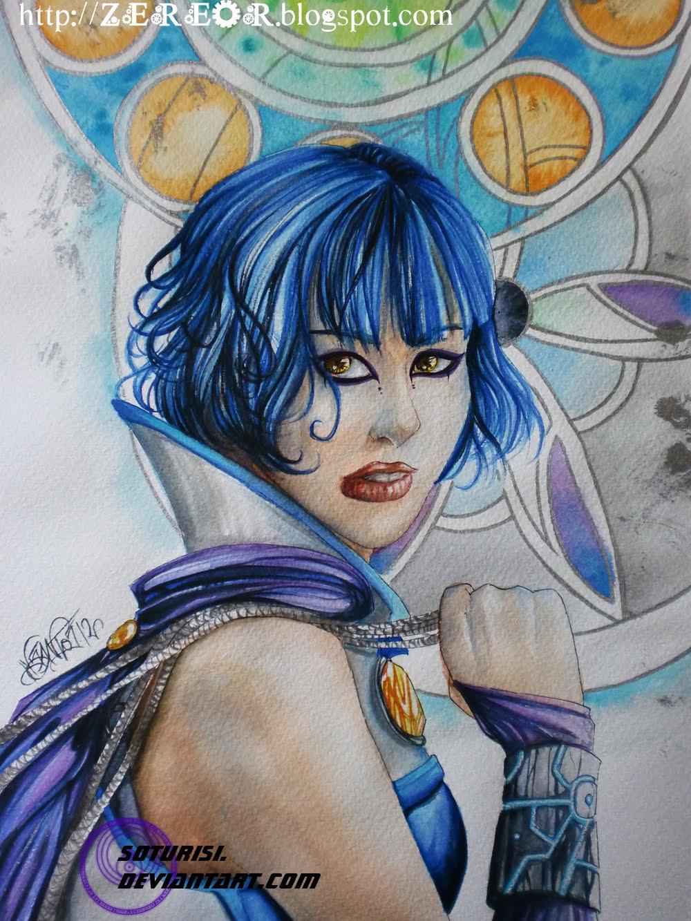 Mis dibujos a acurela ^^ Azur