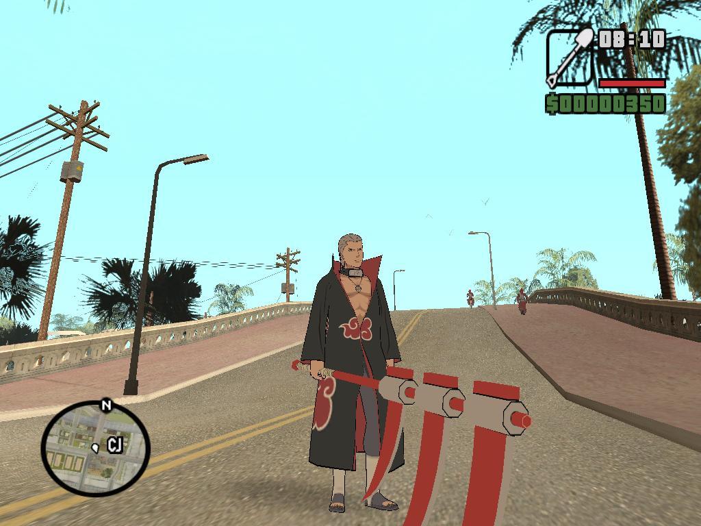 Akatsuki: Hidan on GTA San Andreas