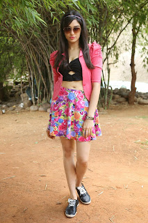 Actress Adah Sharma  Pictures at Garam Movie Launch  048