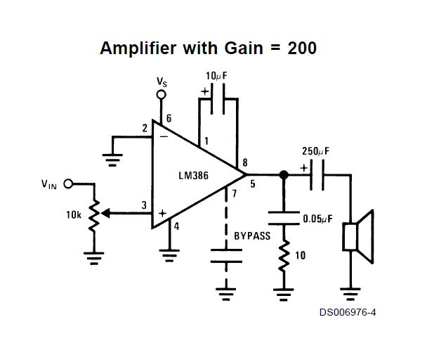 regnarts  audio amplifier