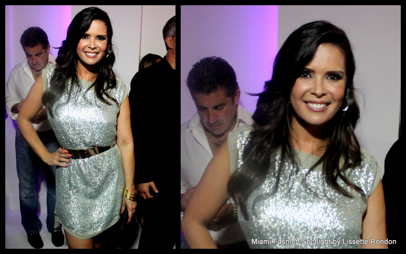 "Karen Sierra attending  the ""Real Housewives of Miami"" season 3 premier party"