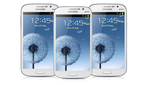 Samsung Galaxy Grand Duos Tampak Depan