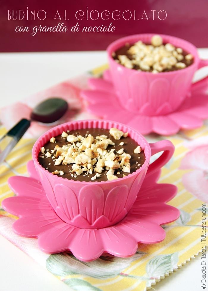 Budino al cioccolato (senza uova, senza burro)