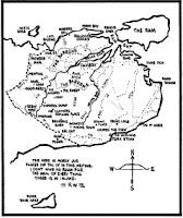 Map from Riddley Walker