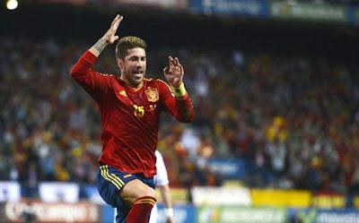 Hasil Pertandingan dan Cuplikan Video Spanyol vs Prancis 1-1
