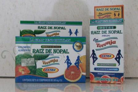 NutriSer: NutriSer: Raíz de Nopal