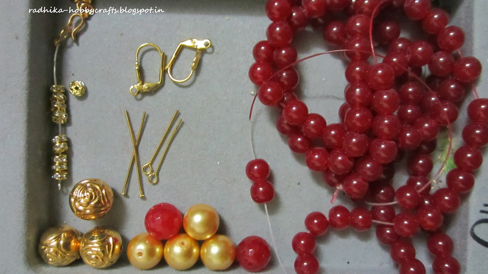 beads craft beadtin round w transparent gold llc garnet