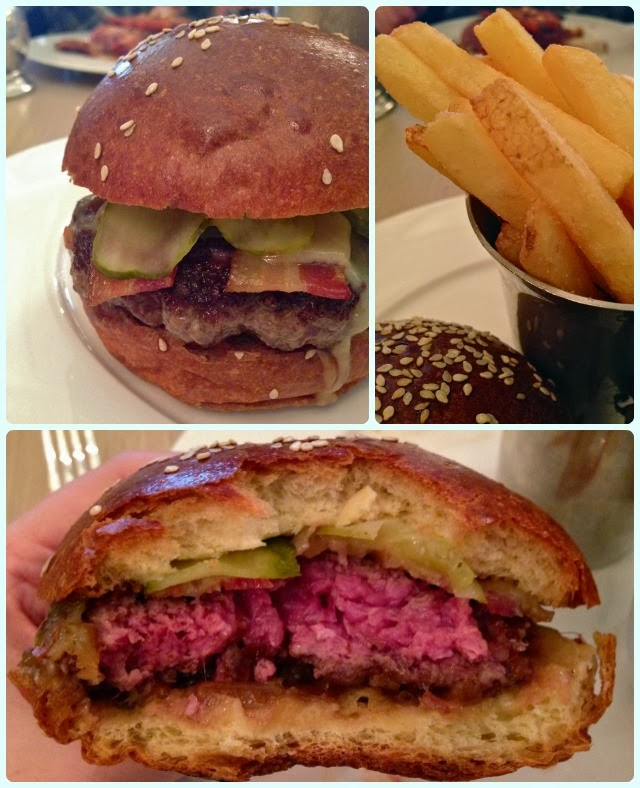 Berner's Tavern, London - Burger