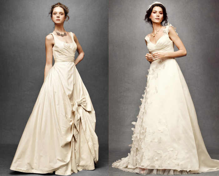 Anthropologie Wedding Dress Collection - wedding flowers 2013