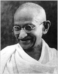 Gandhi fue premio nobel de la paz