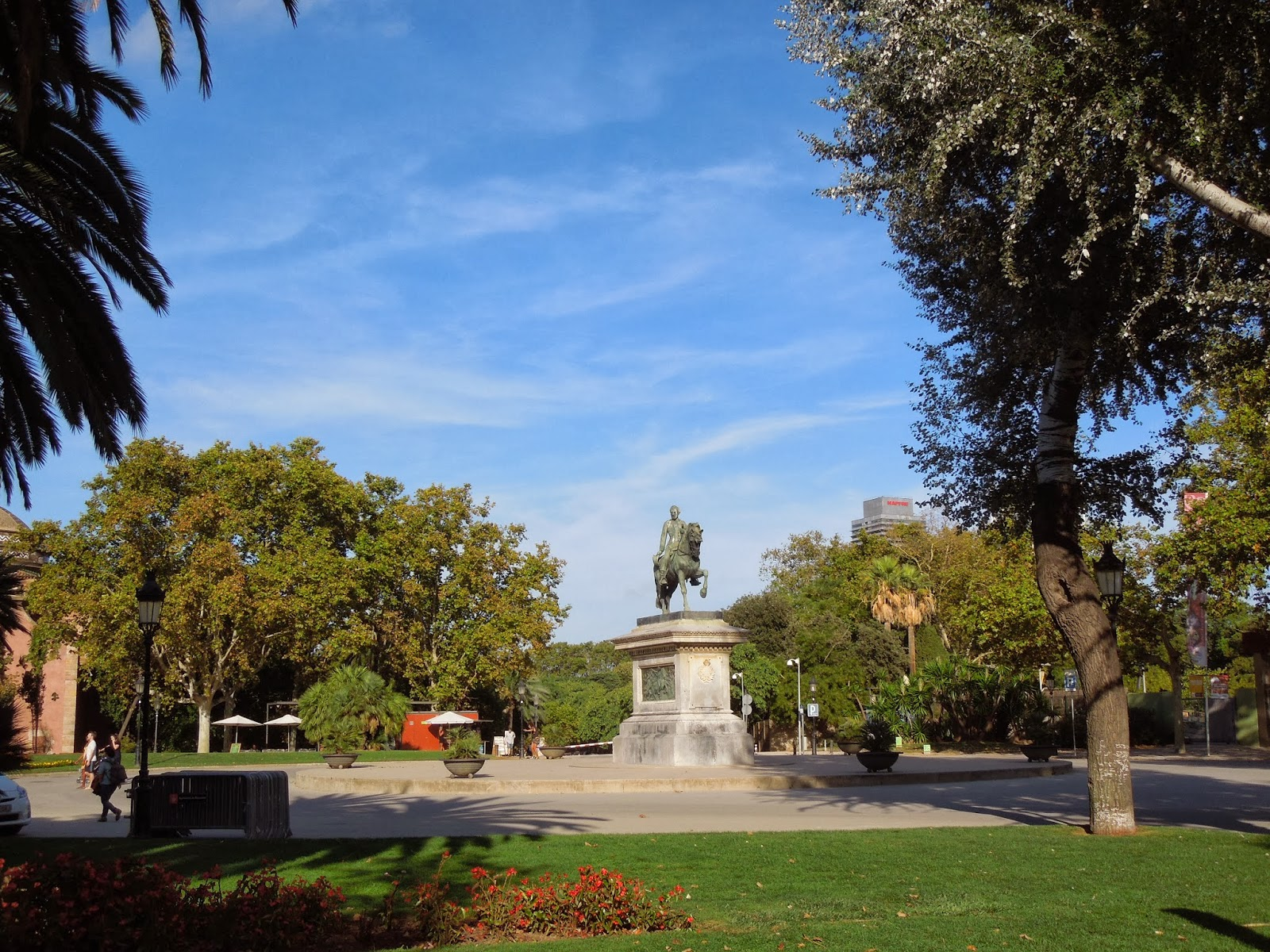 Barcelona parque de la ciutadella ii a dos pasos del for Parques de barcelona