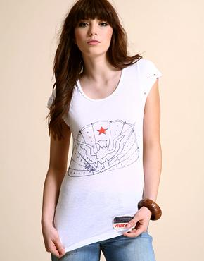 t-shirt, t-shirt for girl, kaos, kaos cewek, trend kaos, kaos anak muda, gambar di kaos, WRangler T- Shirt