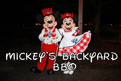 Mickey Mouse Backyard Bbq adventures of a new milwife: mickey's backyard bbq