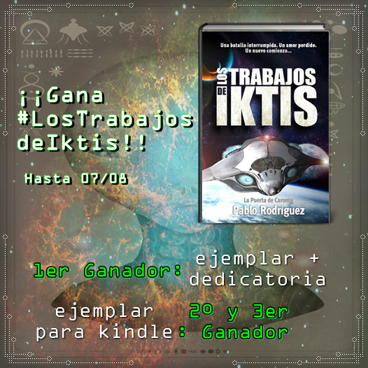 """Sorteo """"Los trabajos de Iktis"""""""