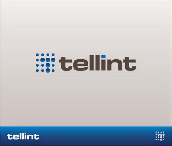 Tellint - Telecommunications Company Logo Designs