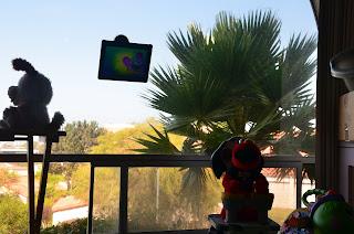 iMagnet on the window 2
