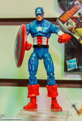 Hasbro 2013 Toy Fair Display Pictures - Marvel Universe - Captain America