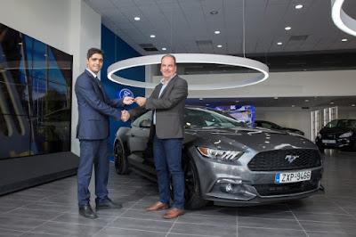 Παραδόθηκε από το FordStore Σφακιανάκης η πρώτη Ford Mustang εγκαινιάζοντας τη νέα εποχή Ford στην Ελλάδα