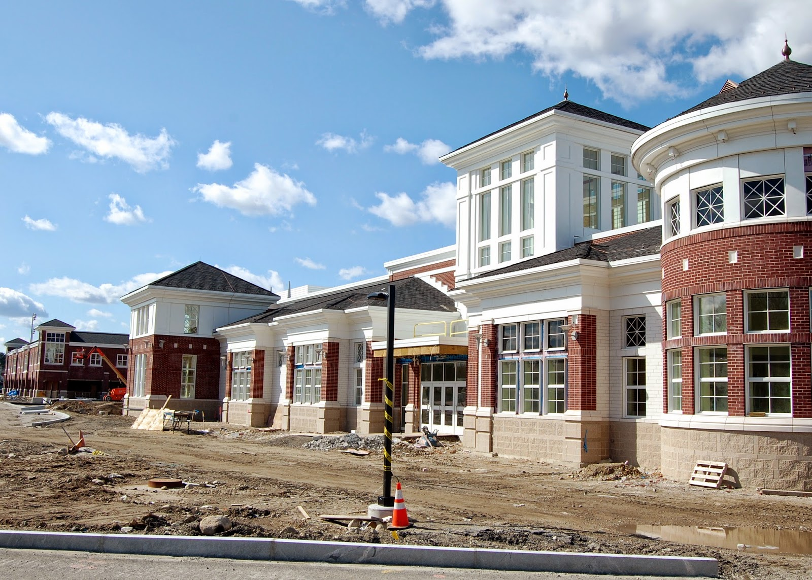 new FHS - front view panorama