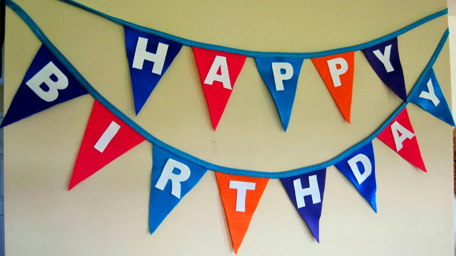 happy birthday wishes in a festoons