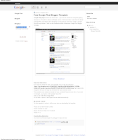 Download Google Plus Blogger Template