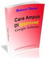 Ebook Cara Ampuh Di Approve Google Adsense