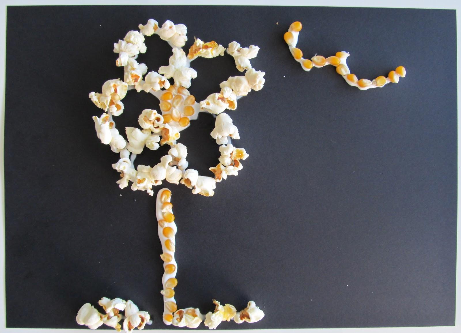 Plain Popcorn Popcorn Bags Using a Plain