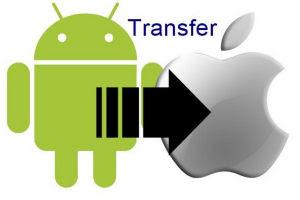 rubrica trasferimento su iphone