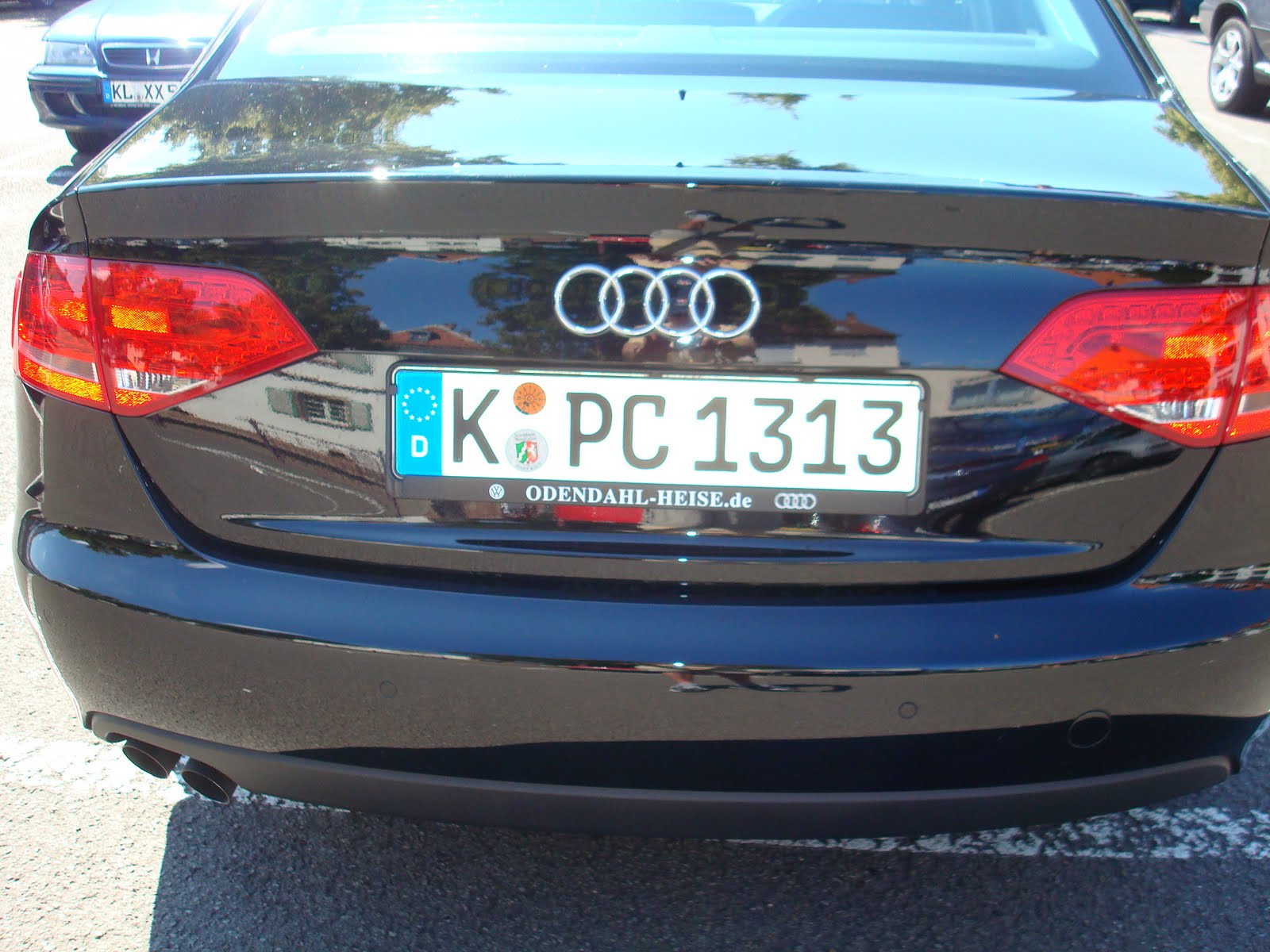 Rowdy In Germany German License Plates