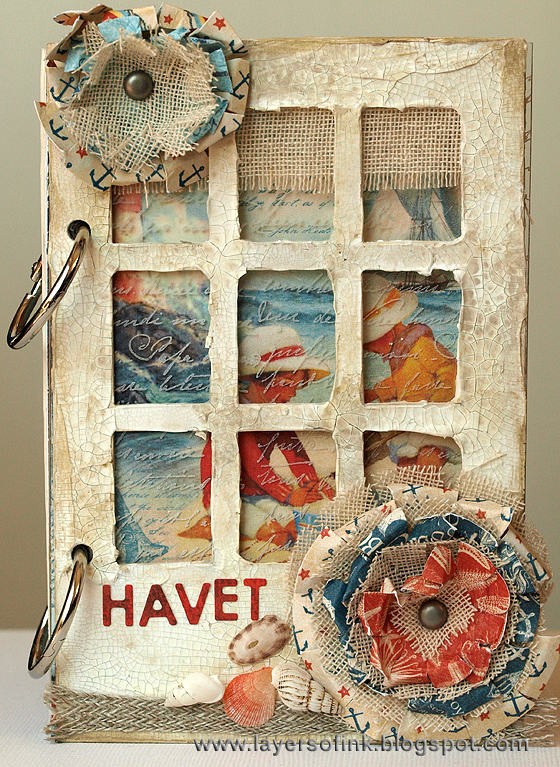 http://layersofink.blogspot.com/2014/07/crackle-window-album-tutorial.html