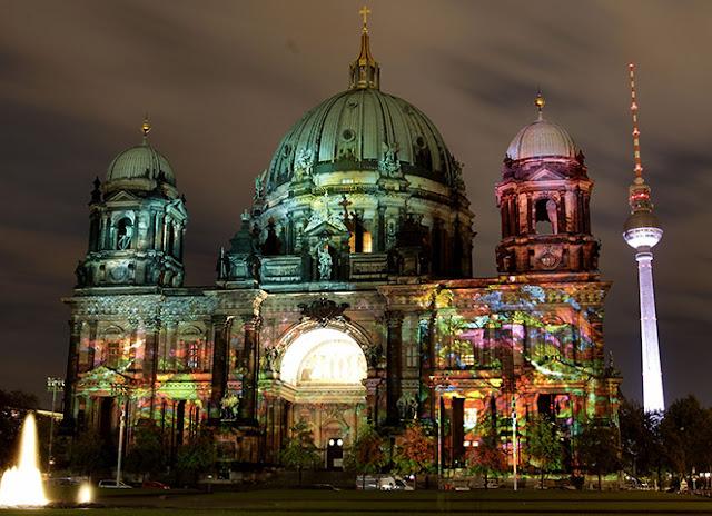 lễ hội ánh sáng tại berlin