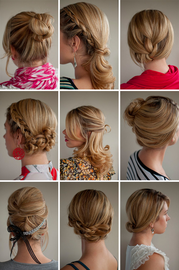 It's Written on the Wall: 30 Different, Beautiful Hair Styles You Can Do Yourself