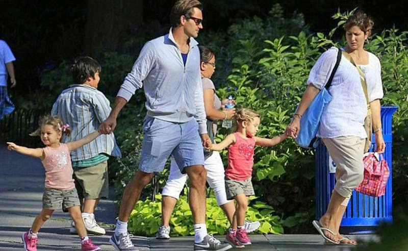 """Roger Federer """"La familia es lo mejor del Mundo"""""""