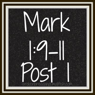 Chalkboard image: Mark 1:9-11 Post 1