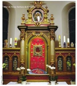 Altar da Igreja de Na. Sra. de Estocolmo