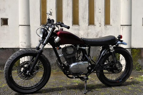 Modifikasi Honda CB 100 ~ Gudang Automotif