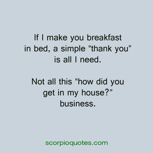 funny scorpio quotes