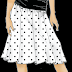 Como hacer una falda de nesgas o tableada