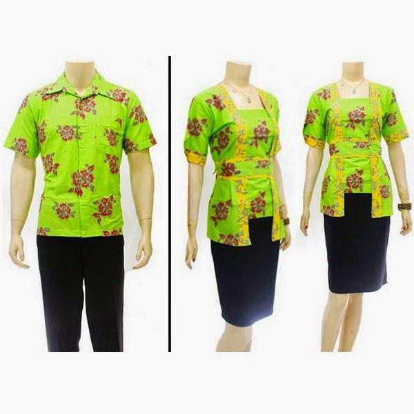 SR739 Grosir Baju Batik pasangan/Couple 2014
