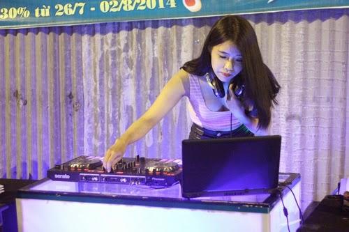 Nữ DJ trà chanh - trào lưu nở rộ tại Gài Gòn