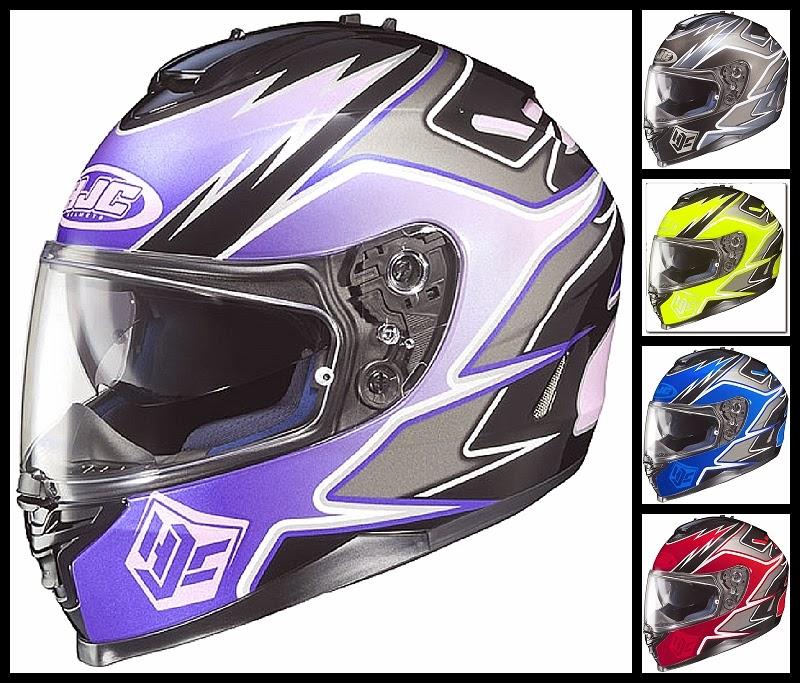 HJC IS-17 Series Intake Full Face Motorcycle Helmet