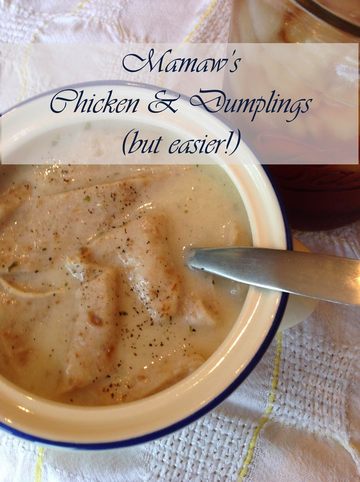 Amazing chicken and dumplings recipe