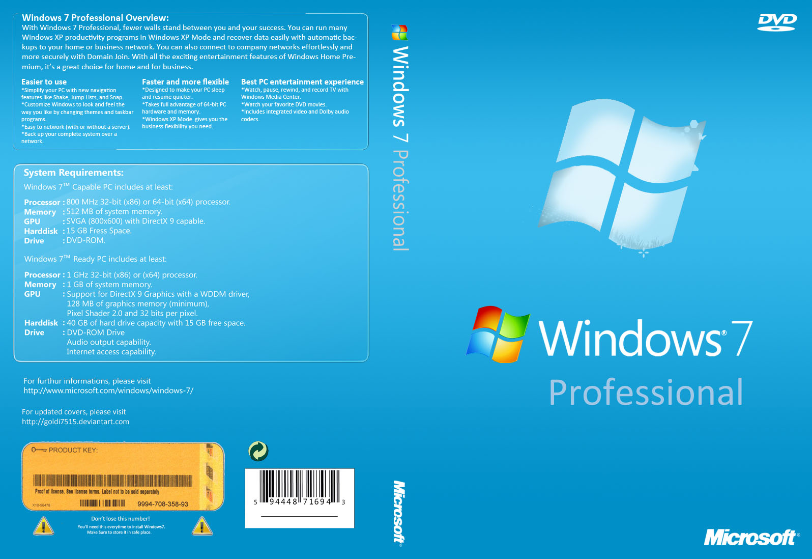 Download Windows 7 PRO ESD x86/x64 PT-BR Windows7 Professional cover