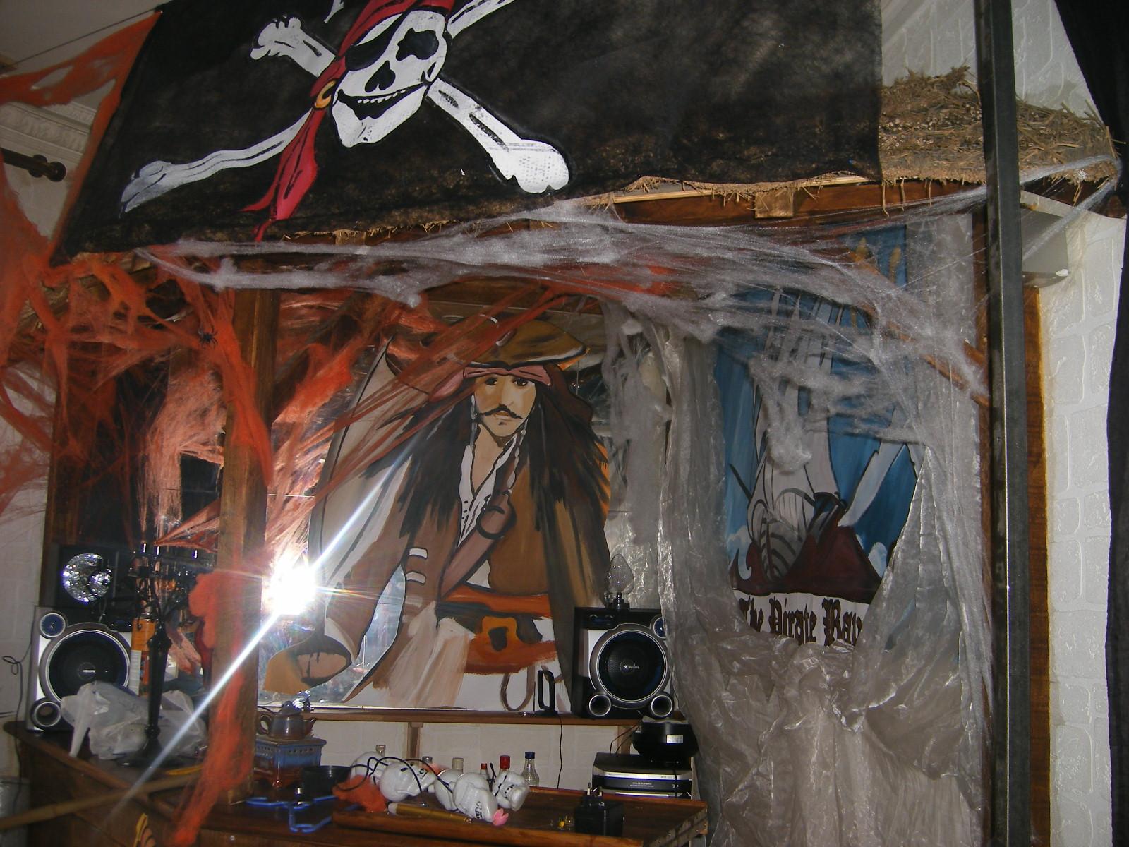 Halloween decoration salle - Deco salle halloween ...