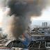 El balance del incendio en mercado de Concepción