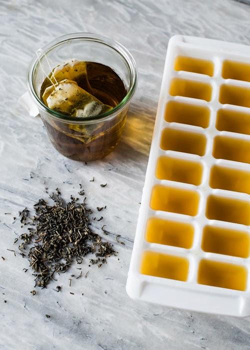 Đá lạnh trà xanh